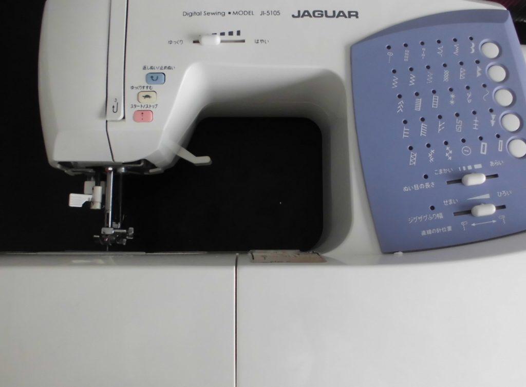 ジャガーミシン修理|JI-5150|下糸を拾わない(縫えない)