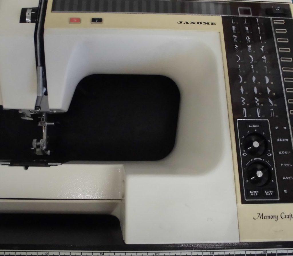 ジャノメミシン修理|メモリークラフト6000|糸調子不良