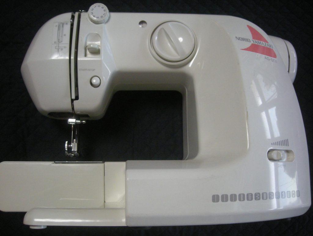 アックスヤマザキミシン修理|AG-001|山崎範夫のミシン|下糸が切れてしまい縫えない