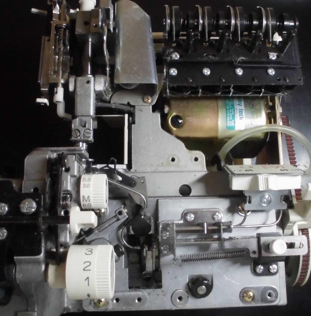 BL515(衣縫人)の分解オーバーホールメンテナンス修理|(株)ジューキbabylockミシン