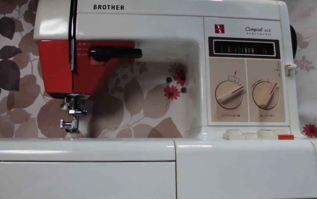 brotherミシン修理|ZZ3-B761|COMPAL ACE|糸が切れる|ジグザグ縫いが出来ない