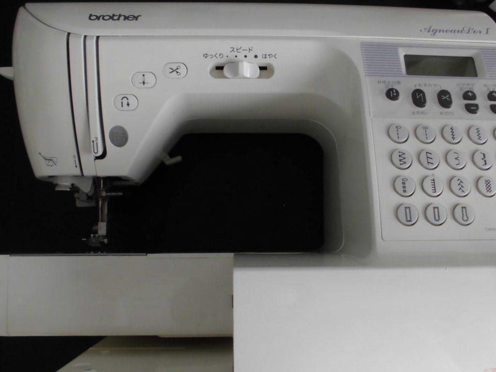 ブラザーミシン修理 アニュドールⅠ CPS70 糸が絡み縫えない