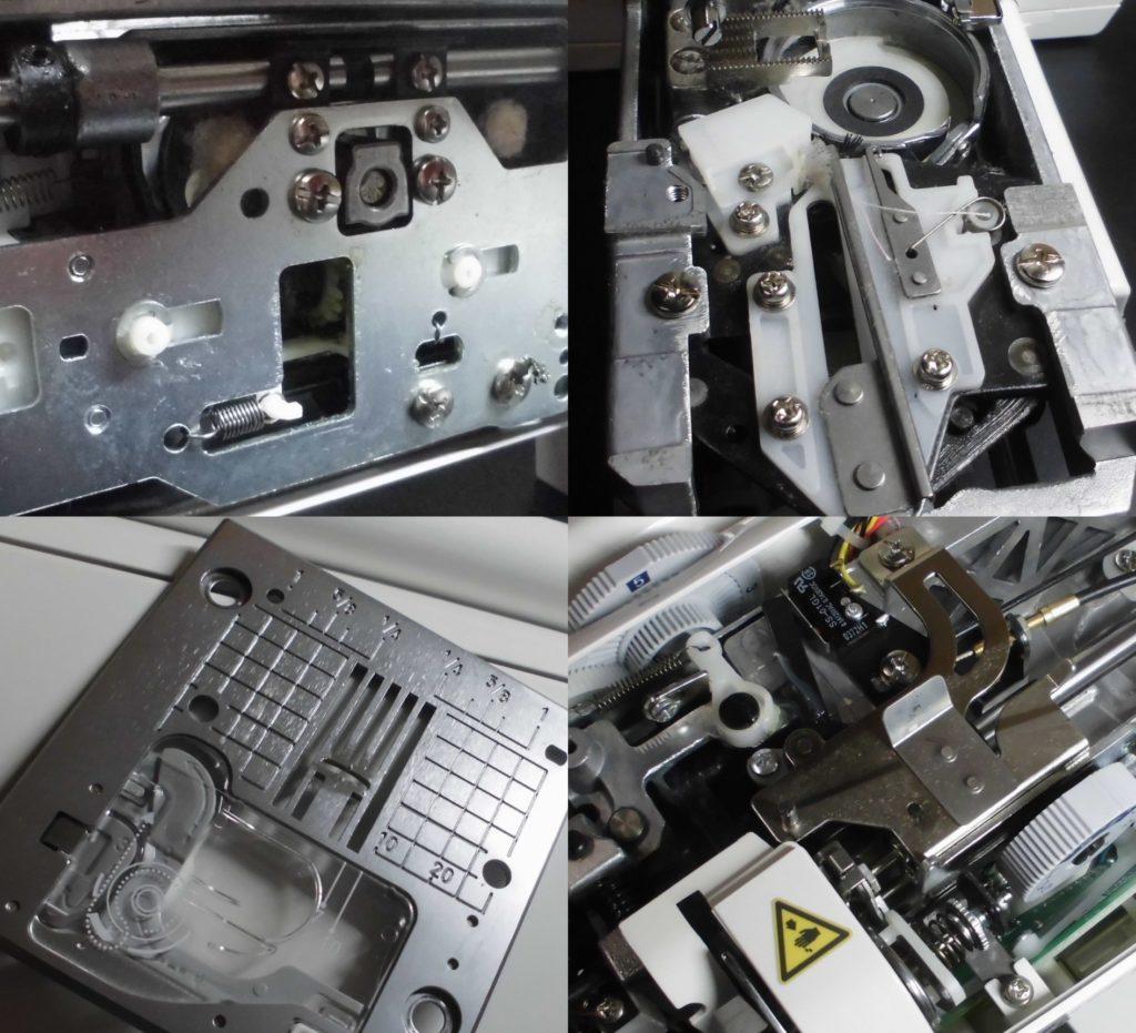 HZL-F600JP(EXCEEDキルトスペシャル)の全体メンテナンス修理|JUKIミシン