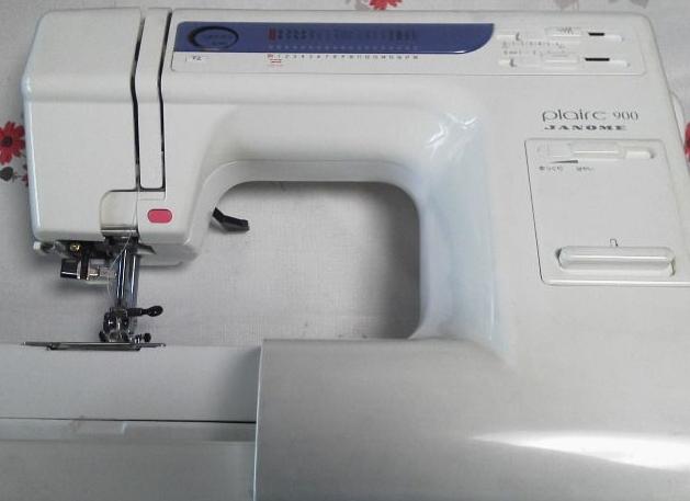 JANOMEミシン修理|Plaire900|返し縫いが出来ない|直線縫い以外出来ない