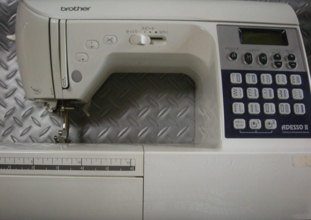 brotherミシン修理|CPS72|ADESSOⅡ|布を送らない|プーリーが重い