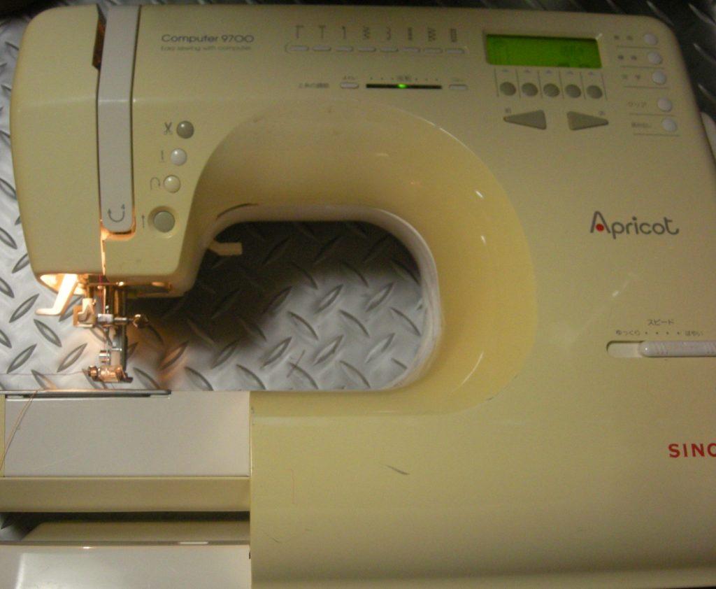 SINGERミシン修理|Computer9700|Apricot|糸が絡まり縫えない