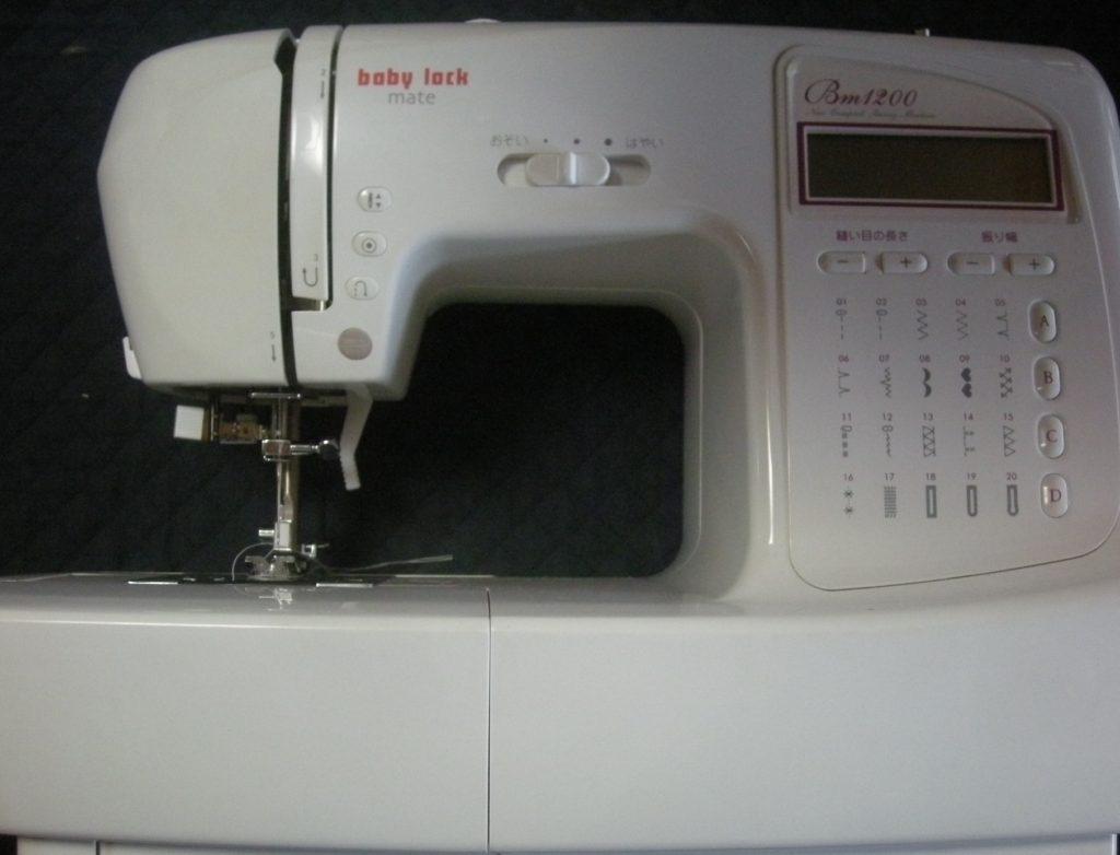 (株)ジューキbabylockミシン修理|BM1200|下糸をすくわない