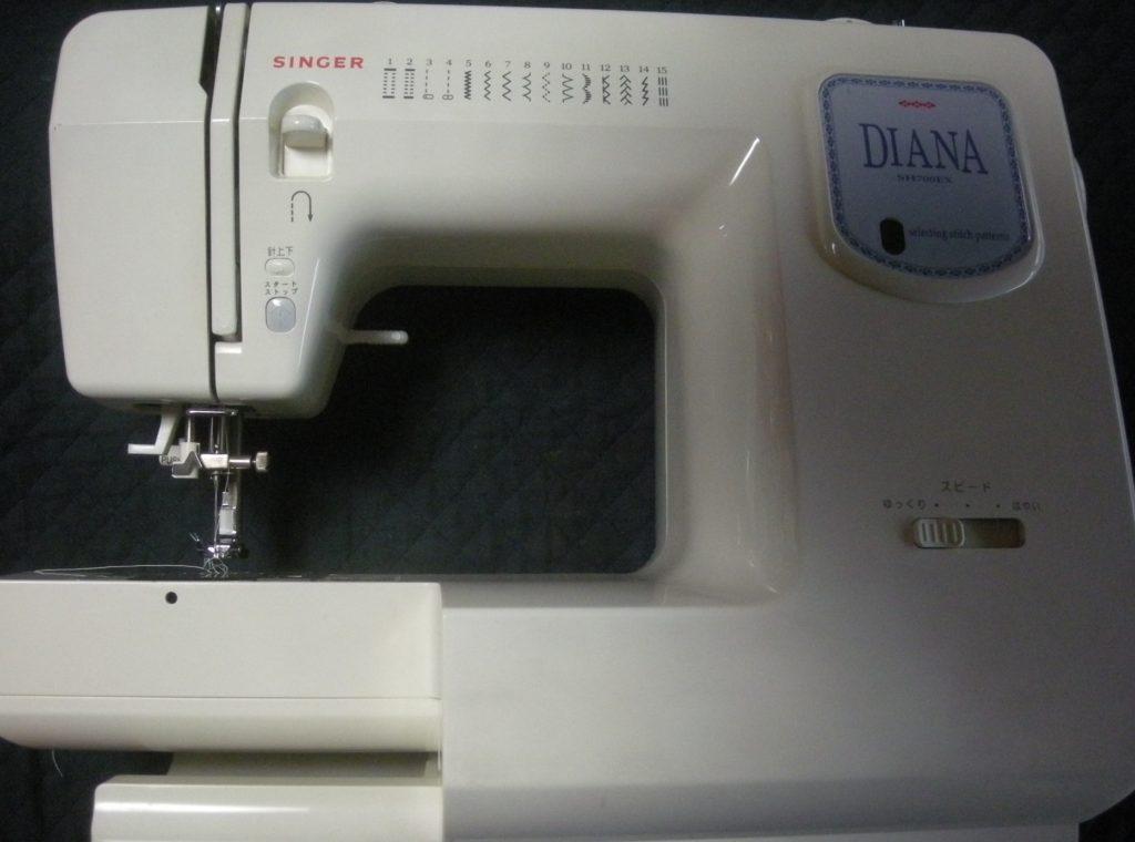 SINGERミシン修理|SH700EX|DIANA|糸が切れる|糸がダンゴになる