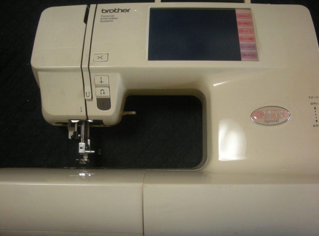 brotherミシン修理|EM9893|FamierSpecial|布を送らず縫えない