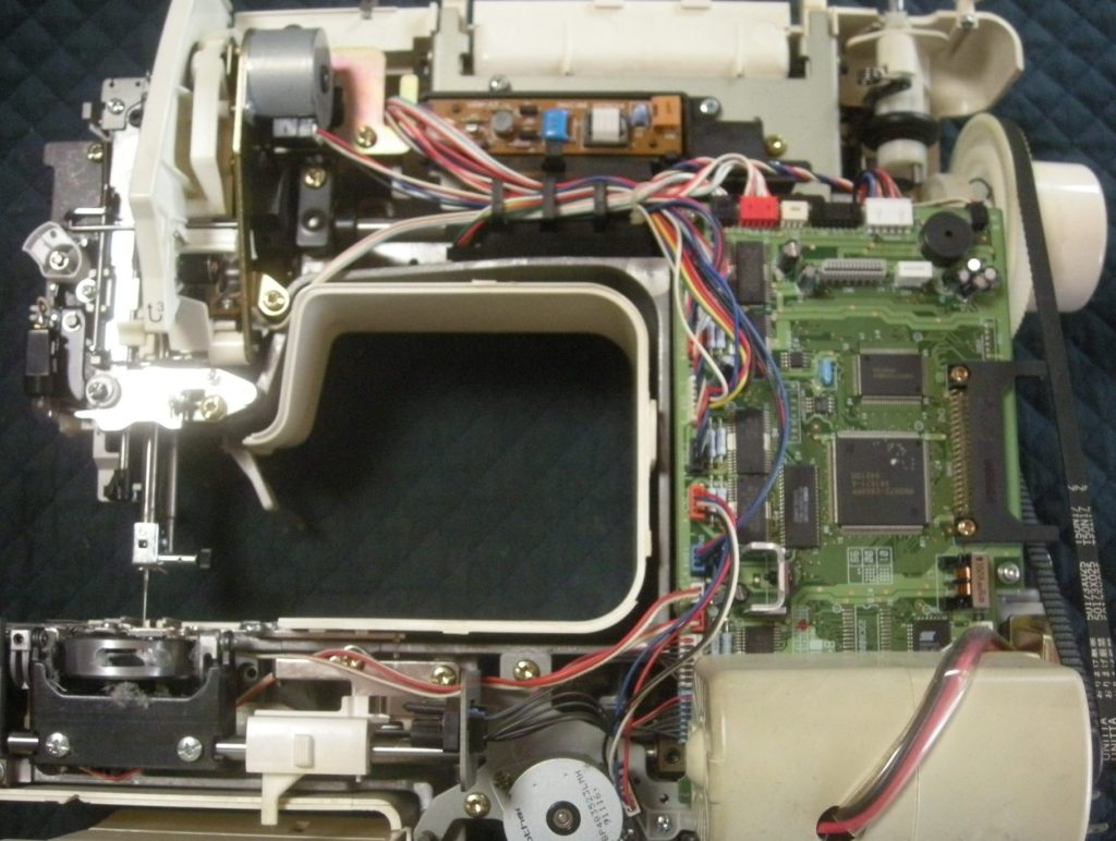 EM9893(FamierSpecial)の分解オーバーホールメンテナンス修理 brotherミシン