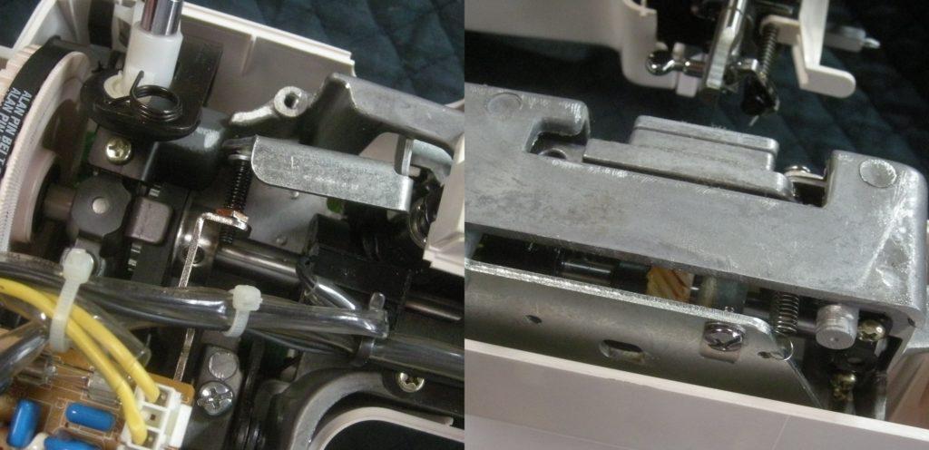 KN-510EXの故障や不具合|針が釜にあたる、縫えない