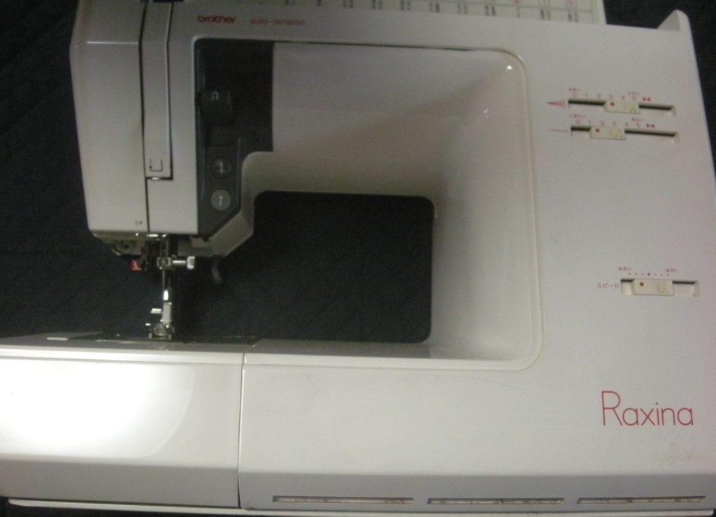 brotherミシン修理|ZZ3-B777|Raxina|布が引っ張られる|縫えない