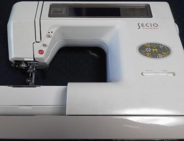 JANOMEミシン修理|SECIO8200|ステッピングモーターエラー|動かない