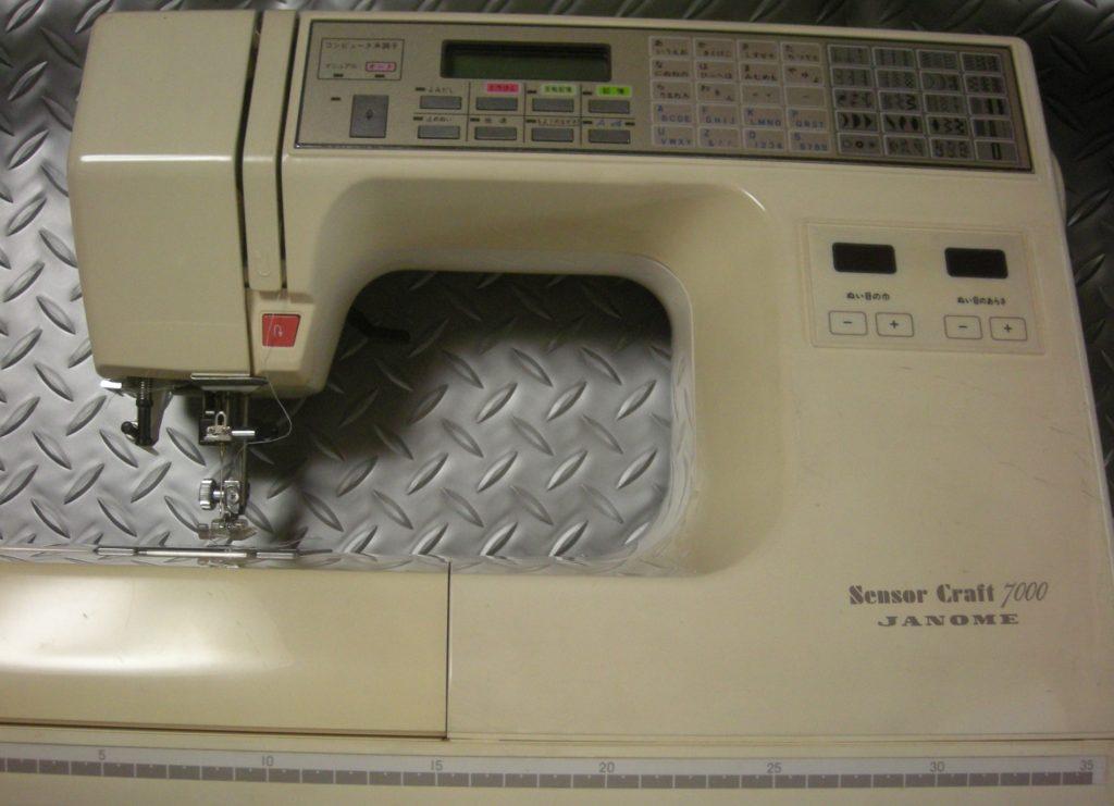 JANOMEミシン修理 SensorCraft7000 糸が絡み縫えない