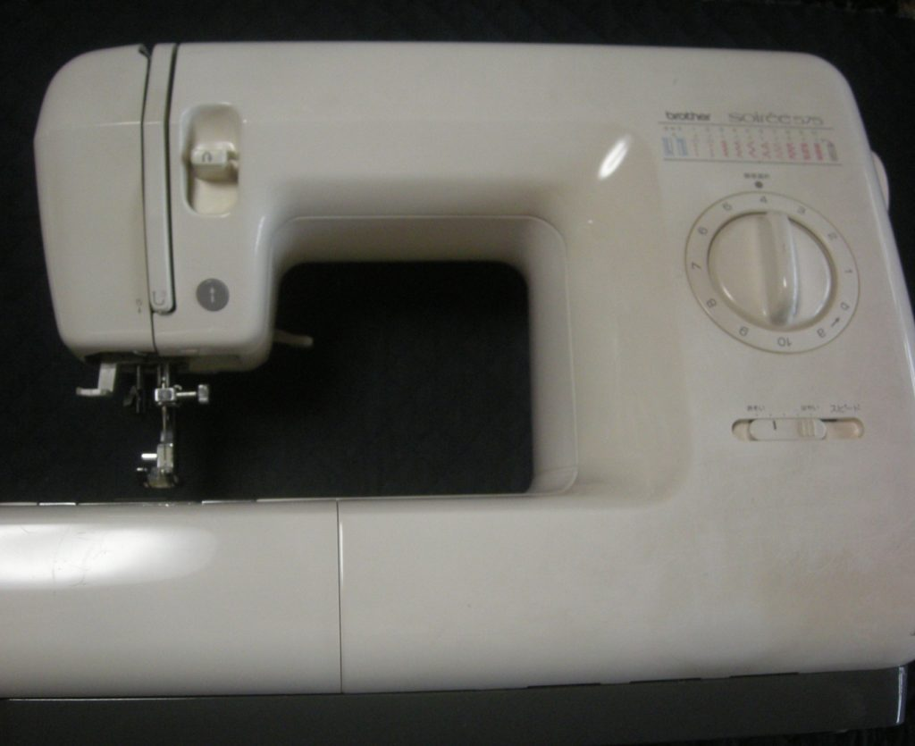 brotherミシン修理|ZZ3-B575|Soiree575|縫っていると異音がする|糸が絡む