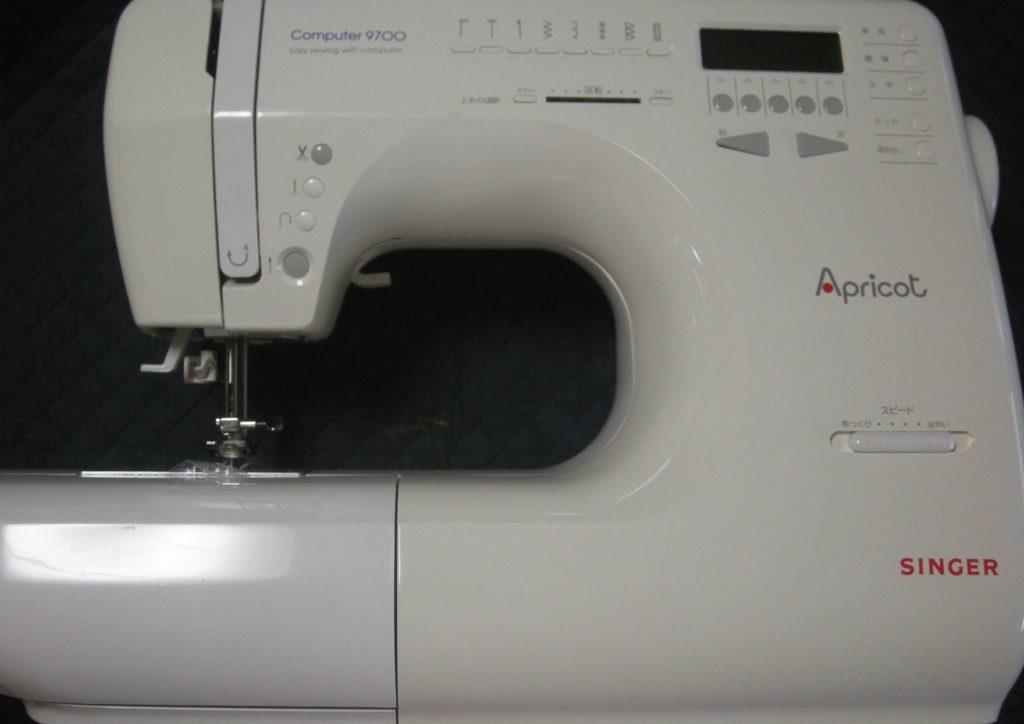 SINGERミシン修理|computer9700|Apricot|糸調子が合わない