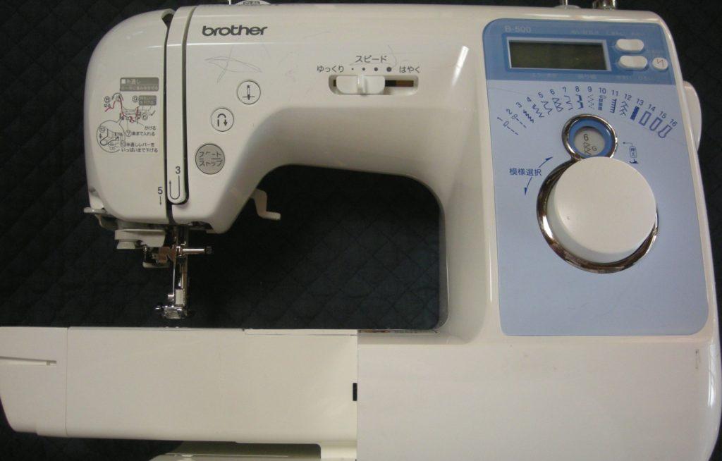 brotherミシン修理 CPV03 B-500 ワンタッチ糸通しが使えない