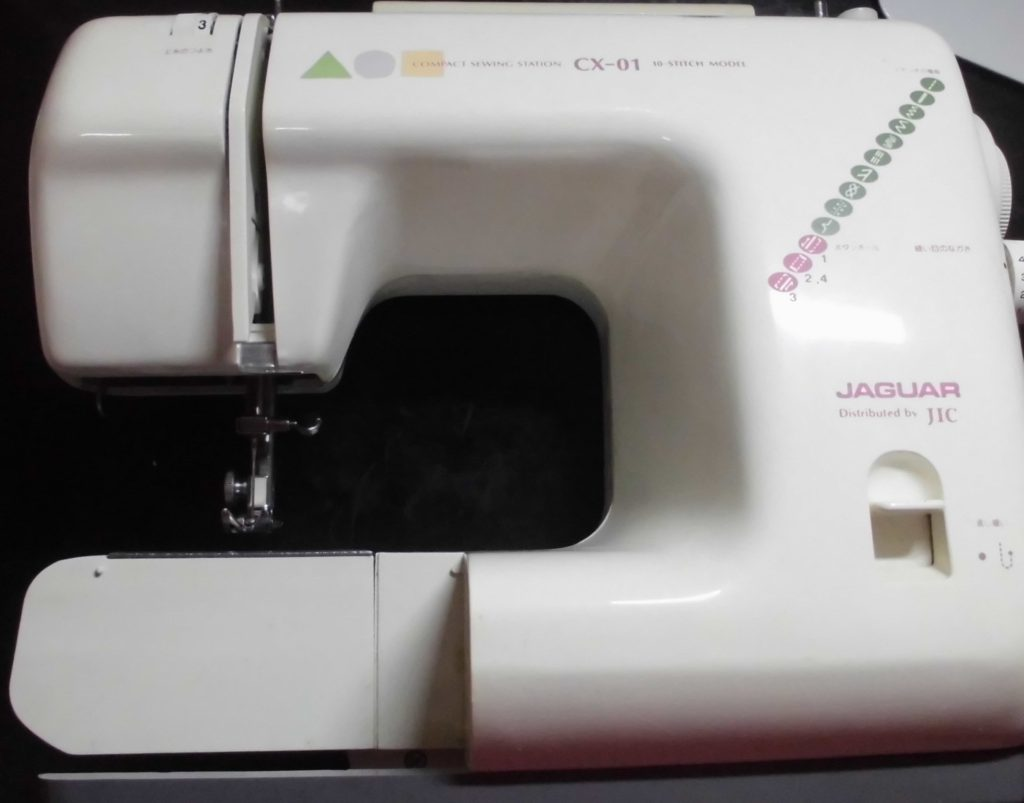 ジャガーミシン修理|CX-01|下糸が巻けない、ミシンの動きが重くなる
