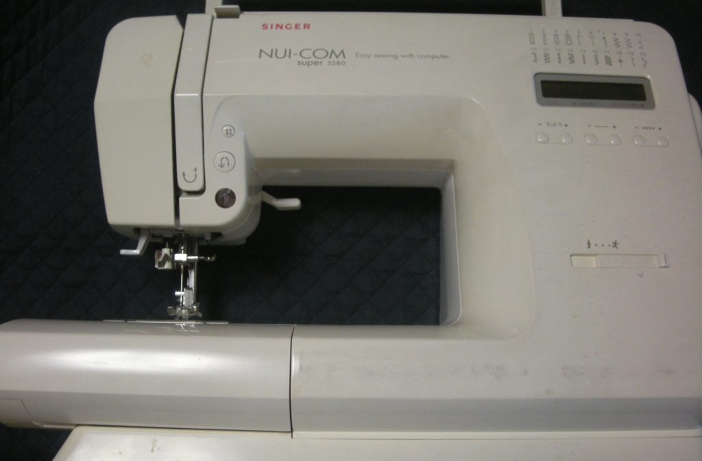 SINGERミシン修理|5580|NUI-COM|下糸がグチャグチャになる