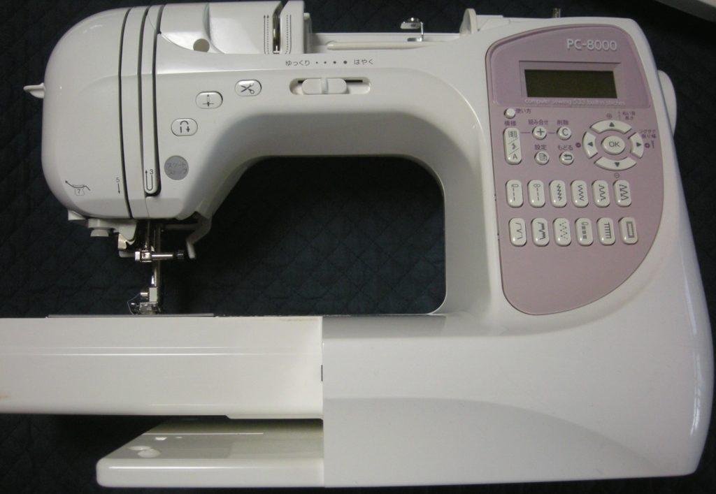 brotherミシン修理|CPS54|PC-8000|縫い目が細かい