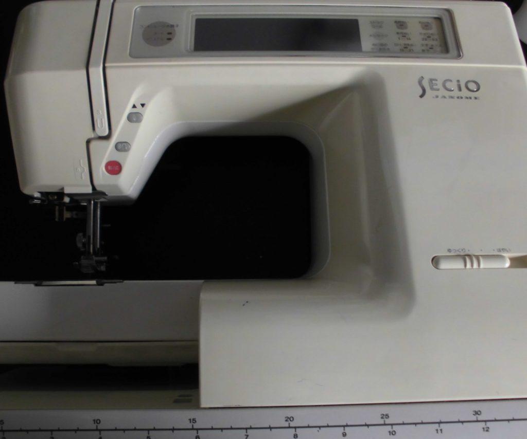 JANOMEミシン修理|SECIO8300|液晶が見えない|針が動かない
