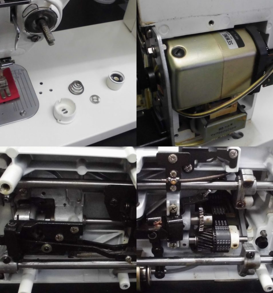 TL-98SP(SPUR98Special)の分解オーバーホールメンテナンス修理|JUKIミシン