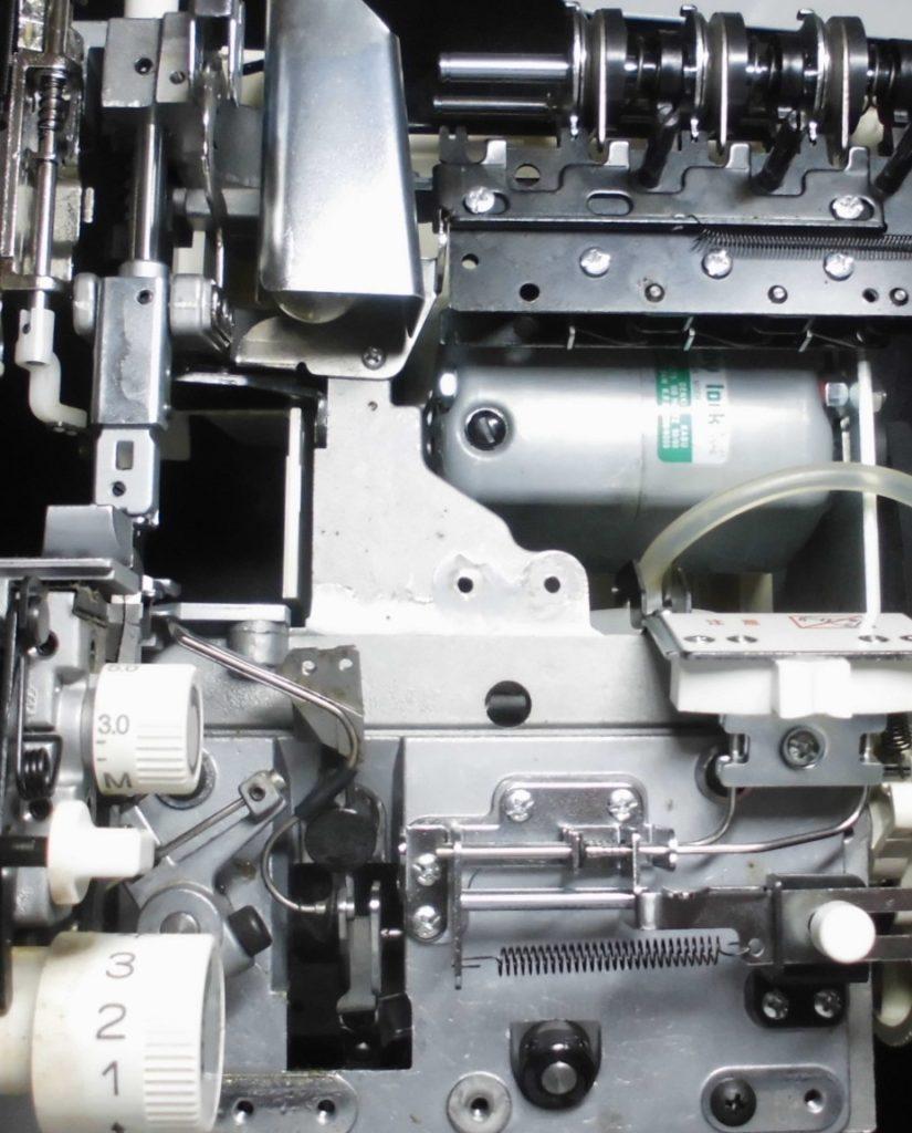 衣縫人BUNKA3500の分解オーバーホールメンテナンス修理|ベビーロックミシン修理