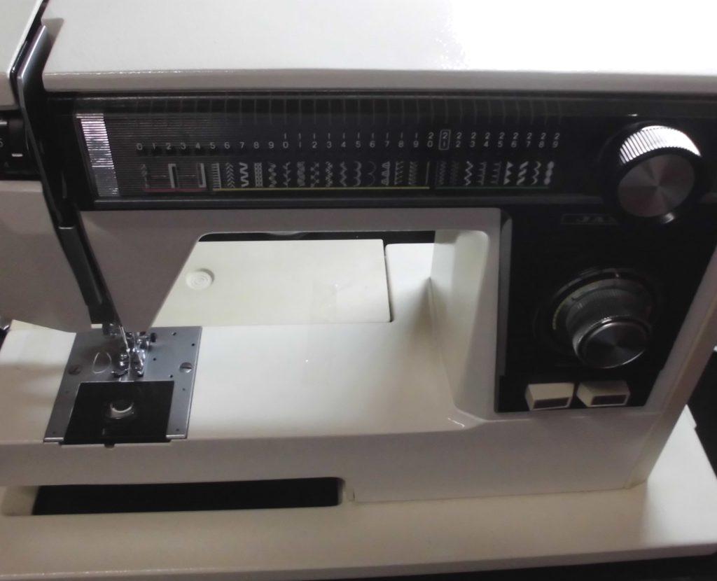 ジャノメミシン修理|エクセル|電子エクセル817型|模様が縫えない