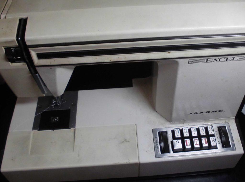 ジャノメミシン修理|エクセル|JANOME625型|糸調子不良、メンテナンス