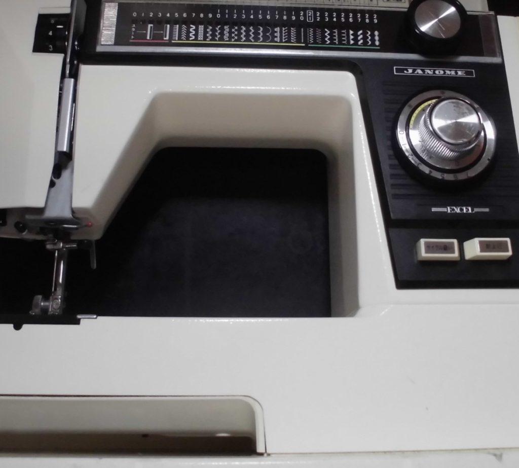 JANOMEミシン修理|EXCEL817(電子エクセル)|動かない、フットコントローラーの断線