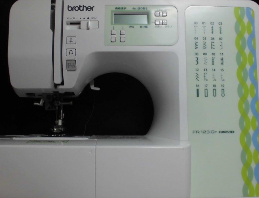 brotherミシン修理|CPV74|FR123|下糸が絡まり縫えない