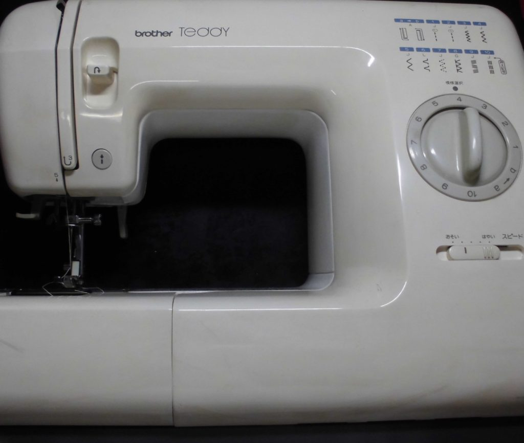 ブラザーミシン修理|TEDDY|ZZ3-B574|糸調子不良、糸絡み、縫い目不良