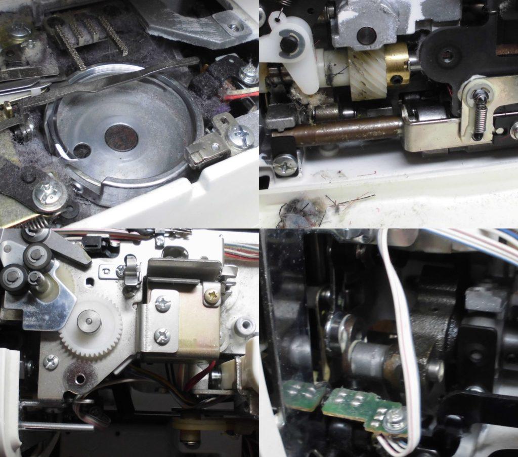 ZZ3-B899の分解オーバーホールメンテナンス修理|brotherミシン修理