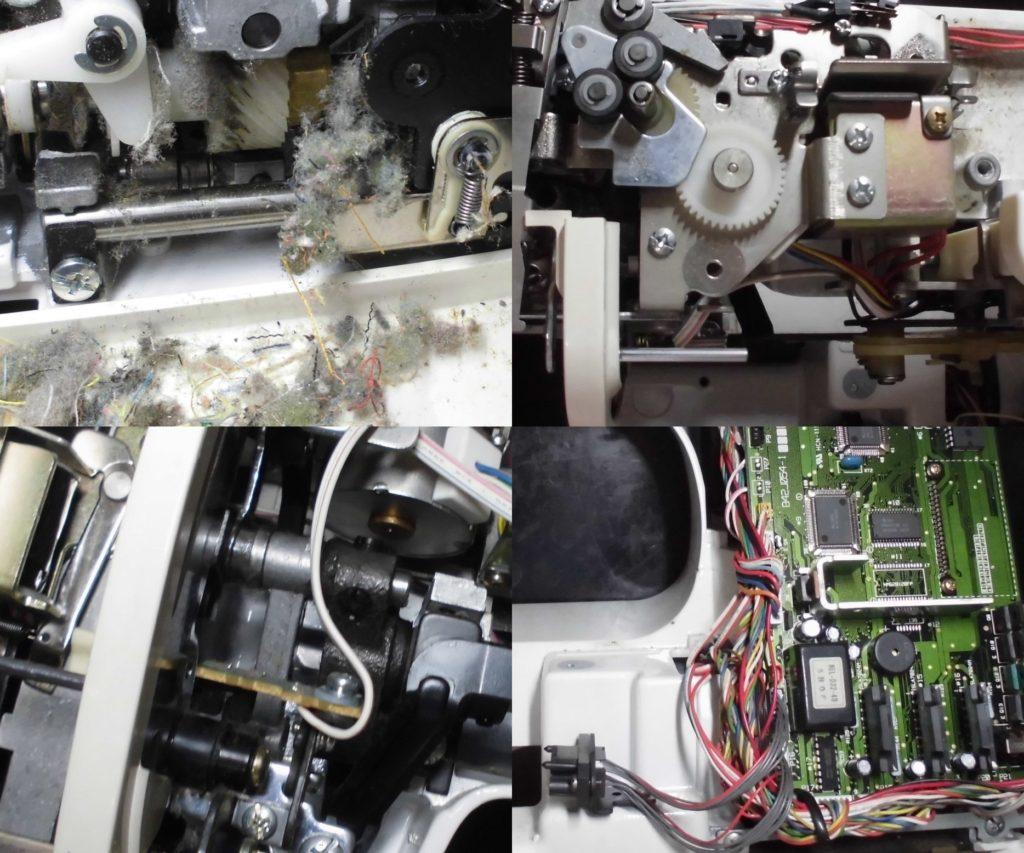 ZZ3-B897の分解オーバーホールメンテナンス修理|ブラザー刺繍ミシン修理