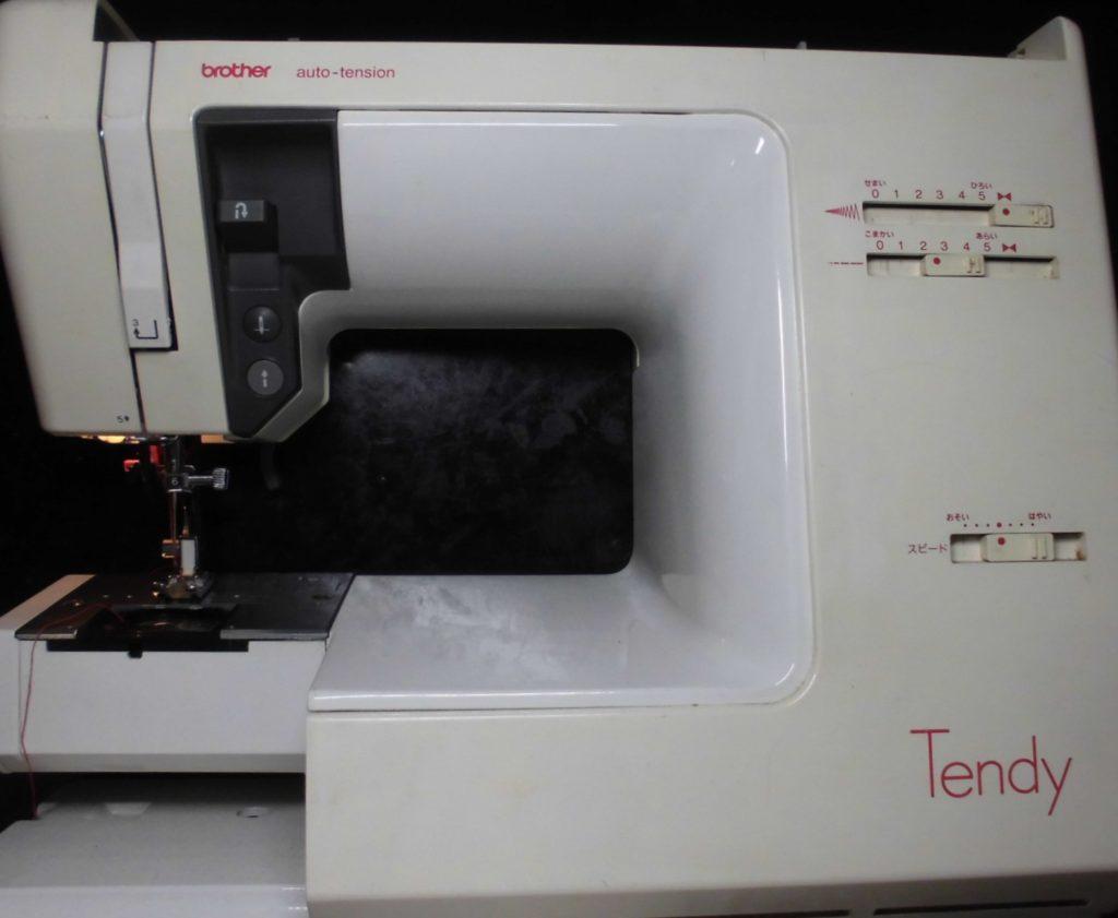 ブラザー電子ミシン修理 ZZ3-B778 TENDY 下糸をすくわず縫えない