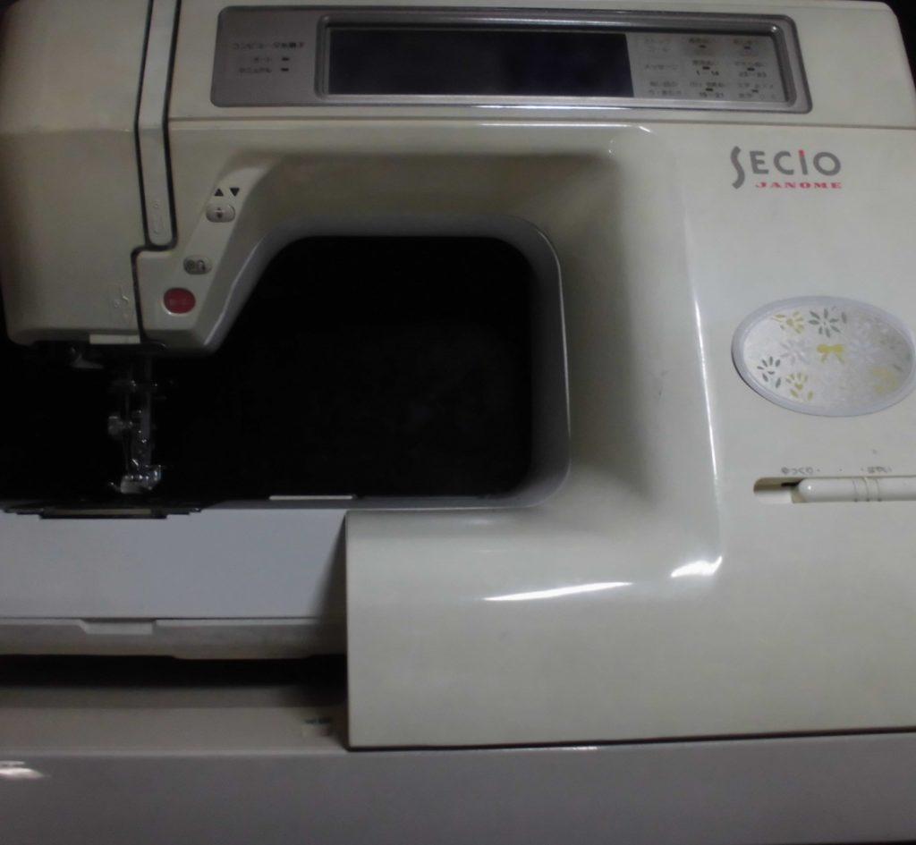 セシオ8200ミシン修理|JANOMEミシン|ステッピングモーターエラー|ミシンが動かない