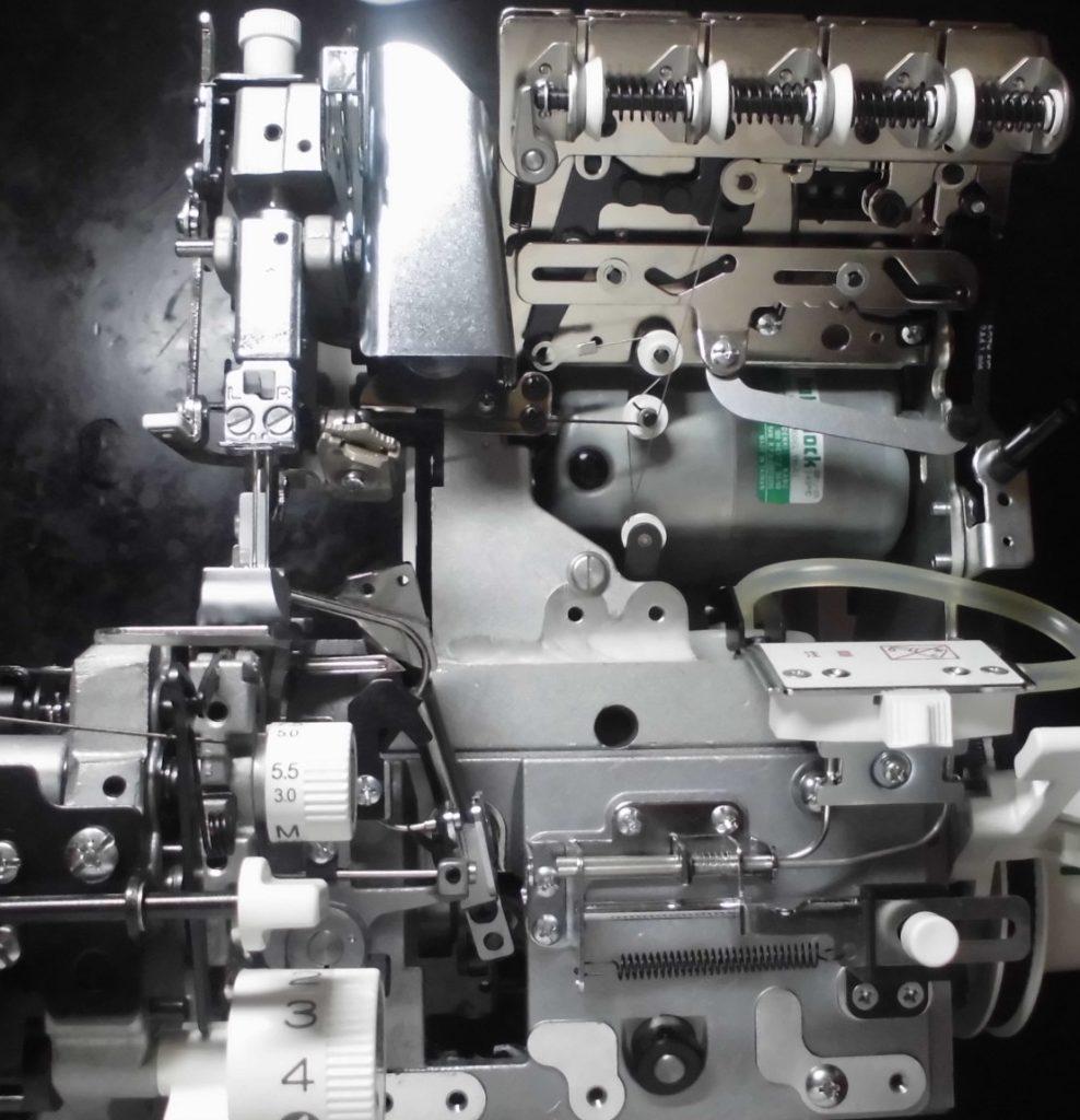 糸取物語の分解オーバーホールメンテナンス修理|BL65EXS|ベビーロックミシン