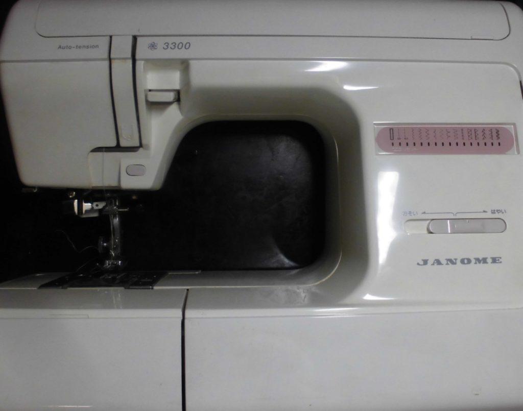 ジャノメ3300ミシン修理 縫えない、動かない、糸調子不良、異音など