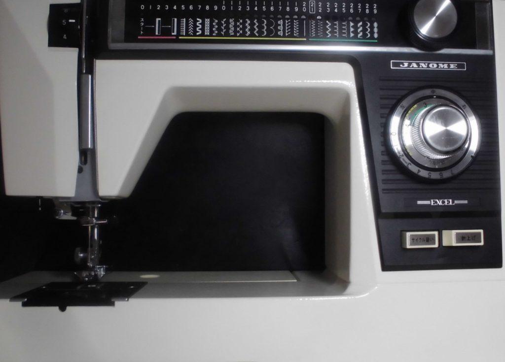 ジャノメミシン修理 エクセル 電子エクセル817 綺麗に縫えない(縫い目がぐちゃぐちゃ)