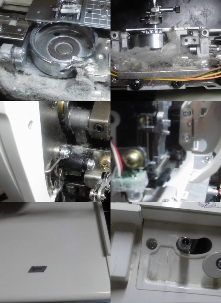 M-6000(CPS52)の故障や不具合|異音がして縫えない、自動糸通し不良、糸調子不良