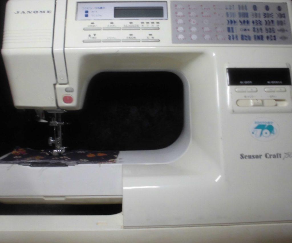 JANOMEミシン修理|センサークラフト7505|縫えない、動かない
